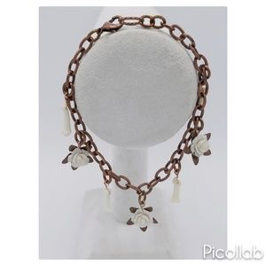 Coyote Bone and Roses Bracelet